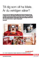 Miele Gallery annons